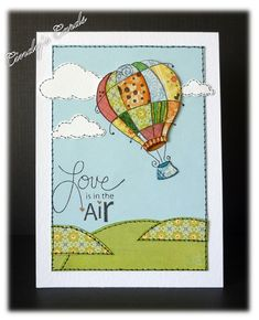 Patchwork Love by frenziedstamper - Cards and Paper Crafts at Splitcoaststampers