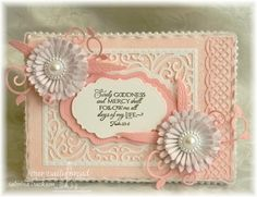 Our Daily Bread Designs, ODBD June 2014 release, ODBD Cherry Blossom, ODBD Custom Aster and Leaves, Beautiful Borders, Fancy Foliage, Vintag...