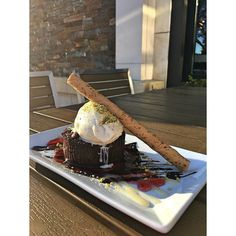 Have that achey sweet tooth? Come cure it with our house made Double Chocolate Bourbon Bread Pudding! #napaeats #visitnapavalley #dessert #foodjunkie #foodies #sweets #delicious #yumm by tarlagrill