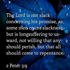 2 Peter 3:9 KJV