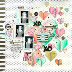 Hello and happy Wednesday! Today I'm excited to introduce you to an amazingly talented artist and scrapbooker: Missy Whidden! Name:Missy Whidden Location:Florida Blog: Little Nugget Creations Instagram: @missywhidden Pinterest: @missy whidden Facebook: Missy Whidden YouTube: Missy Whidden Tell usa bit about yourself and how you got started crafting: I'm on the verge of turning 40 …