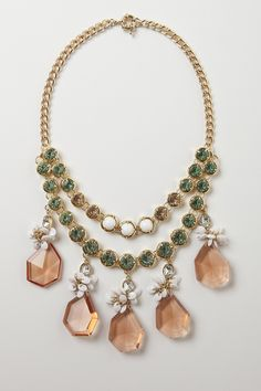 Rio Layer Necklace - Anthropologie.com WHY DID THEY DISCONTINUE IT!??  :( They shoes I want are gone too, boohoo