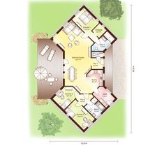 Lillehammer Floorplan 1 Cottage Home Plans Cottages are heat, quaint, and welcoming. Our cottage home plans embrace designs with bungalow and Craftsma. Craftsman Bungalow House Plans, Small Cottage House Plans, Cottage Floor Plans, Basement House Plans, Southern House Plans, Bedroom House Plans, Tiny House, One Level House Plans, Open Floor House Plans