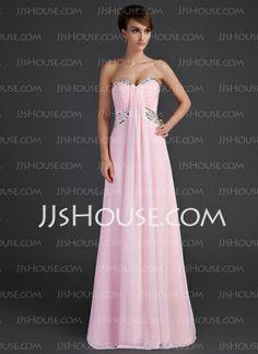 Holiday Dresses - $136.99 - Empire Sweetheart Floor-Length Chiffon Holiday Dress With Ruffle Beading (020025944) http://jjshouse.com/Empire-Sweetheart-Floor-Length-Chiffon-Holiday-Dress-With-Ruffle-Beading-020025944-g25944