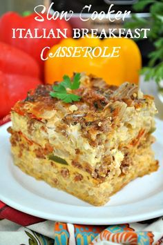 This is a sponsored post written by me on behalf of Simply Potatoes for IZEA. All opinions are 100% mine. You'll never look at brunch the same way again! With layers of hash brown potatoes, eggs, cheese, Italian sausage, herbs, and veggies, this Slow Cooker Italian Breakfast Casserole is full of hearty and flavorful ingredients.... Read more