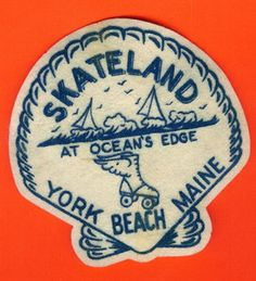 I love these old printed and flocked Souvenir Jacket Patches.