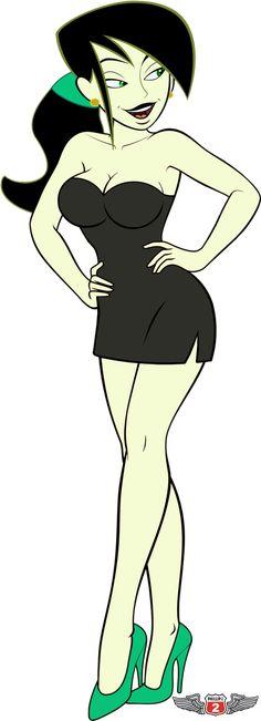 Shego, Kim Possible Cartoon Girl Hot, Cartoon Fan, Anime Girl Hot, Girls Anime, Cartoon Art Styles, Cartoon Pics, Anime Art Girl, Kim And Shego, Kim Possible Shego