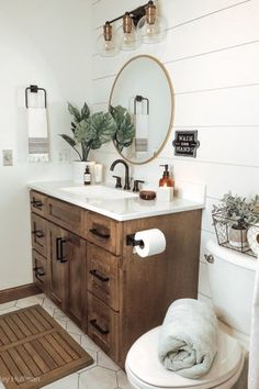 Consider this crucial picture and also look at the provided information and facts on Quick Bathroom Makeover Bathroom Renos, Bathroom Interior, Small Bathroom, Bathroom Ideas, Wooden Bathroom Vanity, Colorful Bathroom, Rustic Bathroom Designs, Rustic Bathroom Decor, Rustic Bathrooms