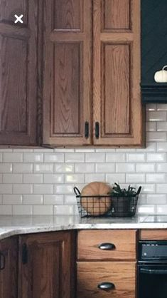 New Kitchen Backsplash Black Countertop Oak Cabinets Ideas Kitchen Redo, Kitchen Backsplash, Kitchen Countertops, New Kitchen, Kitchen Ideas, Backsplash Ideas, Kitchen Paint, Kitchen Tips, Countertop Types