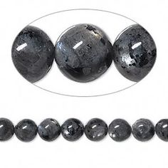 Bead, blue labradorite (natural), 6mm round, B- grade, Mohs hardness 6 to 6-1/2. Sold per 16-inch strand.
