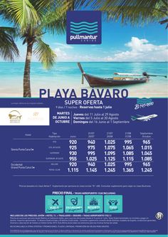 Super Oferta Playa Bávaro Especial Cadena Occidental y Sirenis - http://zocotours.com/super-oferta-playa-bavaro-especial-cadena-occidental-y-sirenis/