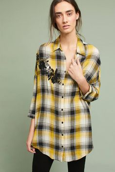 Shop the Embroidered Plaid Buttondown and more Anthropologie at Anthropologie today. Read customer reviews, discover product details and more.