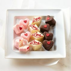 Dragonfly Cakes Valentine's Day Petits Fours http://rstyle.me/n/d94zxr9te