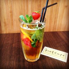 Pimm's season is officially open now @ VietCafe!