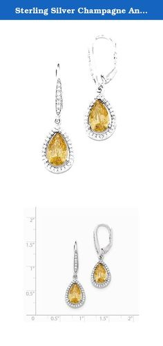 Sterling Silver Champagne And Clear Synthetic Cz Teardrop Leverback Earrings. Product Details Product SKU: JQE12591 Color: White Attributes: Polished;Leverback;Sterling Silver;CZ;Sterling Silver;THAILAND;NOIMAGE Average Weight: 3.06 Sizeable: N Wholesale Uom: PR Jewelry Type: Earrings Material Primary: Sterling Silver Material Primary Color : White Material Primary Purity : 925 Stone Type 1: Cubic Zirconia (CZ) Stone Type 2: Cubic Zirconia (CZ) Stone Color 1: Clear Width Of Item: 10 Mm…