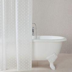 Inspire visillo con ollaos livia blanco cortinas y - Cortinas de bano zara home ...