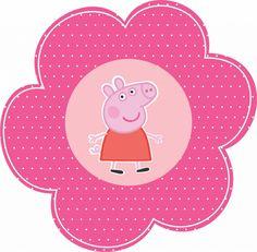 Peppa Pig Happy Birthday, Pig Birthday, Clay Crafts For Kids, Diy And Crafts, Peppa Pig Gratis, Peepa Pig, Peppa Pig Images, Peppa Pig Stickers, Aniversario Peppa Pig