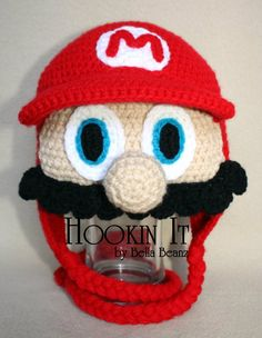 Super Mario Brothers Inspired Hat
