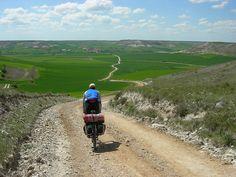 Postales del Camino de Santiago en bici by www.alucherosdelpedal.com, via Flickr