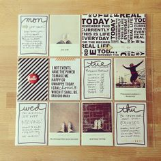 annette haring has some of the most gorgeous #projectlife spreads i've come across yet.