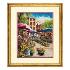 Dimensions - Gold Counted Cross Stitch Kit - Provence Market