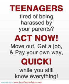 Raising Teenagers Quotes | Teenagers Quotes About Parents