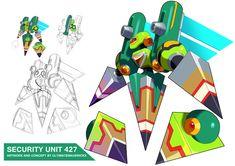 Megaman X9- Security Unit 427 by ultimatemaverickx on DeviantArt