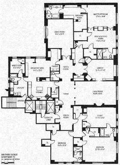 Floor Plan Of The Brentmore Apartments From The World S New
