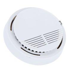 50 pcs/lot Autonome de Fumée Photoélectrique Incendie Détecteur de Fumée Détecteur de Sonde Système de Sécurité pour La Maison Cuisine