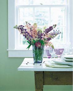 Beautiful Arrangement. Pinks and purple! YA