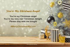 25 Merry Christmas Love Poems for Her and Him Merry Christmas My Love, Merry Christmas Quotes, Christmas Images, Christmas Angels, Love Poem For Her, Love Poems, Love Quotes, Funny Poems, When You Love