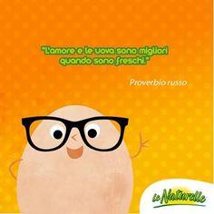 """#Uovoquote """"L'amore e le uova sono migliori quando sono freschi""""  - Proverbio russo -"""