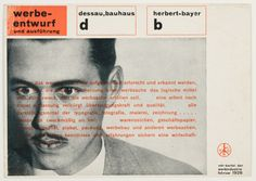 The Pioneering Work of Graphic Artist Herbert Bayer The Bauhaus-trained artist revolutionized the field of graphic design, but tarnish his legacy by working with the Nazis Herbert Bayer, Bauhaus, Credit Collection, Moholy Nagy, Design Theory, Rare Words, New York Art, Travel Magazines, Graphic Design