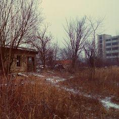 #oldbuilding #forgotten #nature #amazing #old #architecture #transport #winter