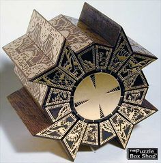 Hellraiser puzzle box, fully functional.