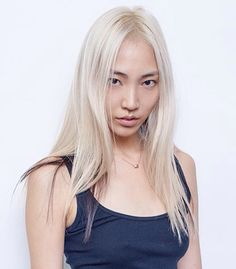 Pixelated The new hair color revolution – My hair and beauty Fashion Models, Fashion Beauty, Blonde Asian, Blonde Moments, New Hair Colors, Hair Colour, Platinum Blonde Hair, Korean Model, White Hair