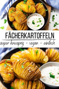 Delicious Vegan Recipes, Vegetarian Recipes, Yummy Food, Hasselback Potatoes, Vegan Side Dishes, Vegan Dinners, Food Blogs, Healthy Cooking, Food Inspiration