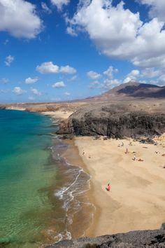 Playa del Papagayo, Lanzarote, Canary Islands