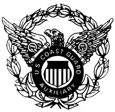 Cap Device Coast Guard Auxiliary, Badge, Cap, Symbols, Holiday, Projects, Baseball Hat, Log Projects, Vacations