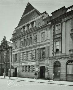 Fulham Baths, North End Road Vintage London, Old London, London Architecture, London History, Fulham, London Photos, Slums, London Calling, Vintage Pictures