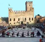 Live human chess game in Marostica, province of Veneto, Italy  Sept 7-9 2012