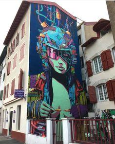 Deih for Pdvstreetartweek in Bayonne, France , 2017