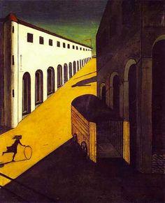 Giorgio-de-Chirico_Mystery-and-Melancholy-of-a-Street_1914