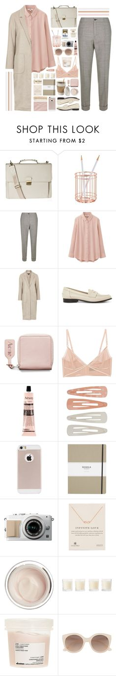 """101116"" by rosemarykate ❤ liked on Polyvore featuring Hero, Etro, Uniqlo, Topshop, Dune Black, Acne Studios, Kiki de Montparnasse, Aesop, Forever 21 and The Body Shop"