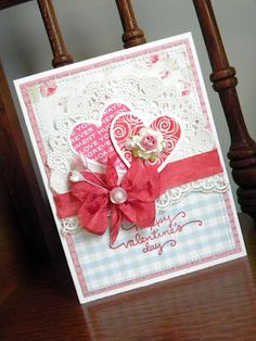 Another pretty card by Geri of Geri's Paper Wishes!