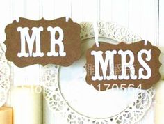 New sale!1 SET Mr. Mrs Party Decoration props back hanging flags / wedding Shooting props / PARTY Party Supplies Free shipping US $9.99