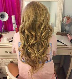 catys loose curls