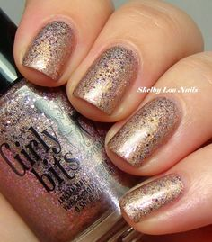 Girly Bits Serendipity This is an exclusive to the March edition of A Box, Indied which is the indie polish subscription box available at llarowe.com #aboxindied #NailPolish