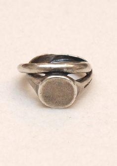 goti - Ring gedreht silber massiv