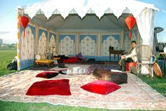 I want to camp like this at an SCA event.